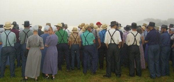 De Amish gemeenschap