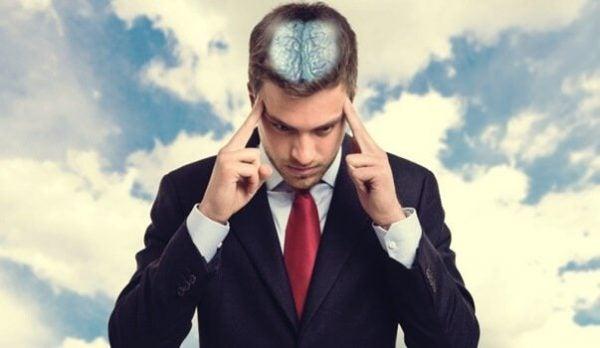 Zeer geconcentreerde man, want volgens Lissa Rankin is zelfgenezing mogelijk