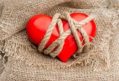 Vastgebonden hart