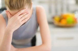 Huisvrouw die veel stress ervaart