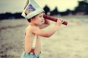 Zelfverzekerde en onafhankelijke kinderen kunnen in hun eentje spelen