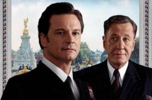 Colin Firth en Geoffrey Rush