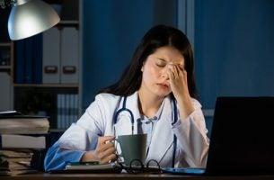 Arts tijdens nachtdienst