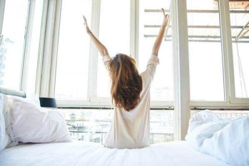Zes aanpassingen om moe wakker worden te voorkomen