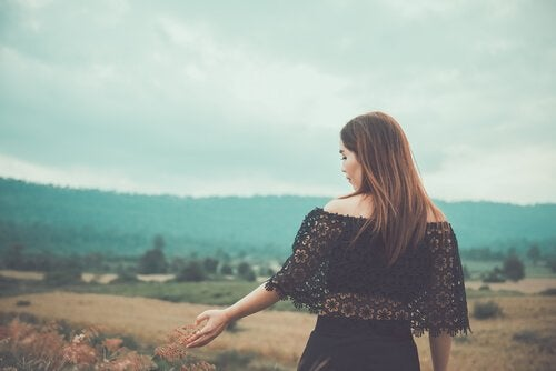 Mooie vrouw, maar wat vooral belangrijk is, is onze innerlijke schoonheid