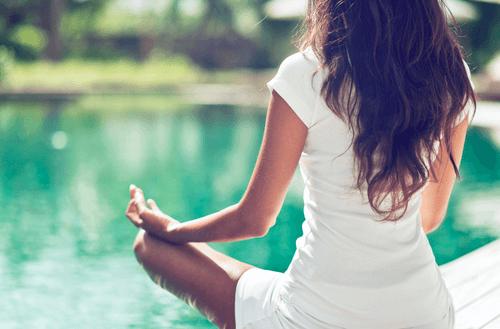 Kalmerende werking van mantra's herhalen