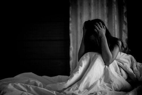 Paniekaanvallen kunnen zich ook 's nachts voordoen