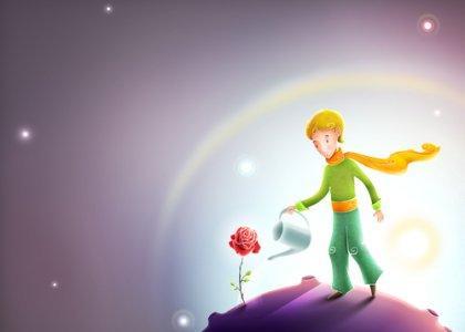 De kleine prins en zijn roos
