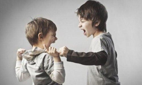 Ruziemakende kinderen