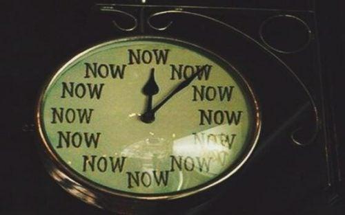 Klok zonder echte tijden