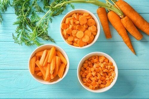 Wortels bevatten vitamines voor je hersenen