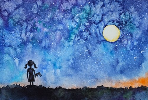 Het meisje dat haar innerlijk licht ontdekte