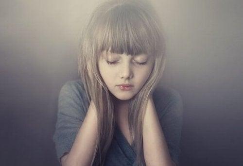 Meisje in stilte