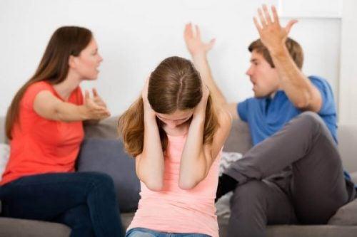 Het gedrag van ouders na een scheiding