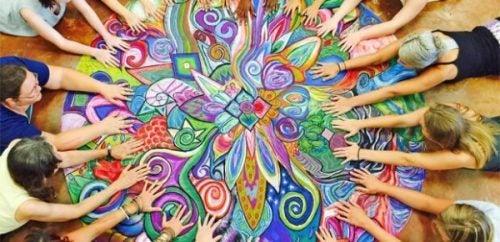 Kunsttherapie gebruikt verschillende kunstvormen