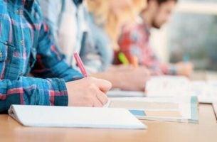 De evaluatie van studenten