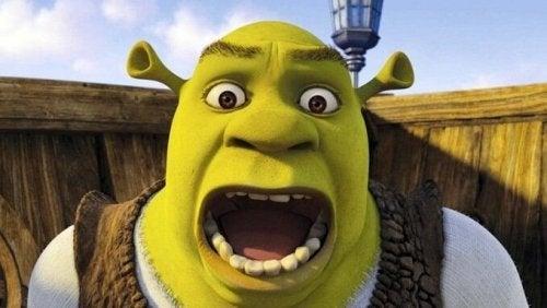 Shrek is de geliefde van prinses Fiona