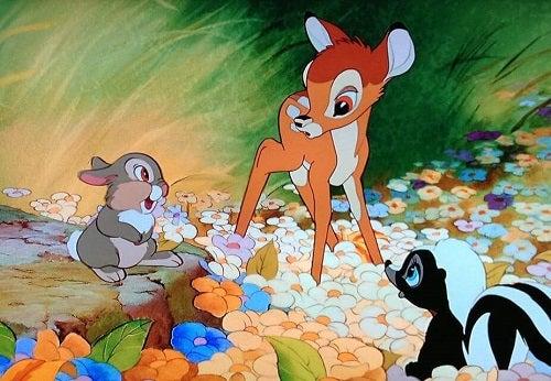 Bambi, een ontroerende film met dieren in de hoofdrol