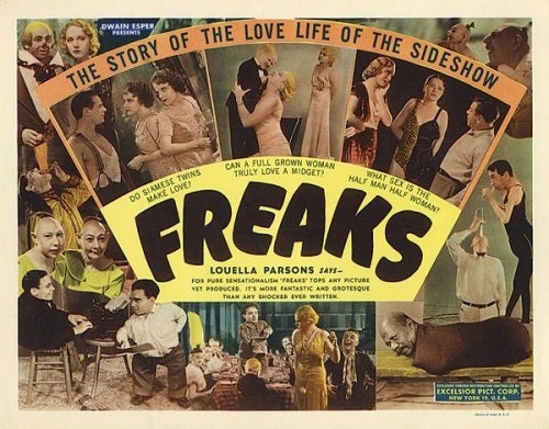 Freaks, een horrorfilm uit 1930