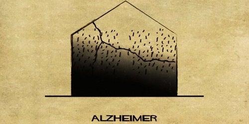 Het huis dat Alzheimer voorstelt