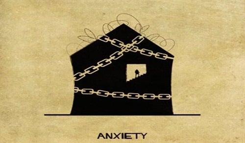Het huis dat angst voorstelt