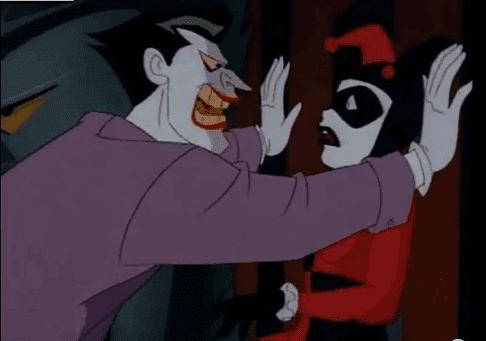 Joker en Harley Quinn in een giftige relatie