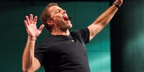 Tony Robbins over dankbaarheid