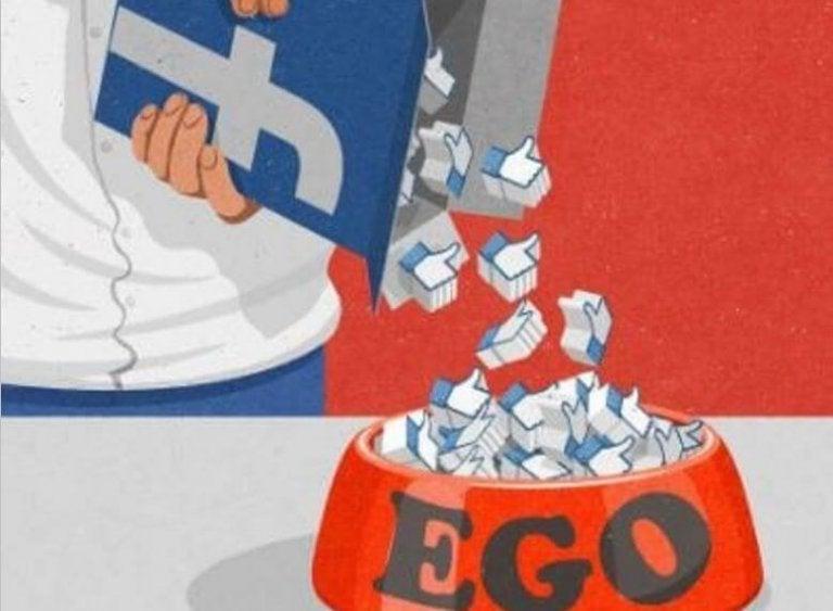 Facebook voedt het ego