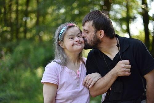 Geestelijke beperking bij vader en dochter