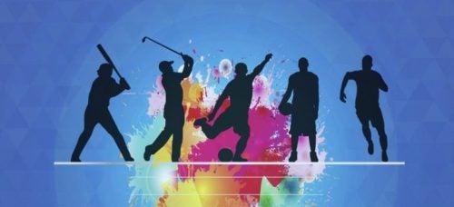 Sportende figuren