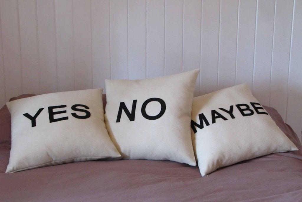 Ja nee of misschien