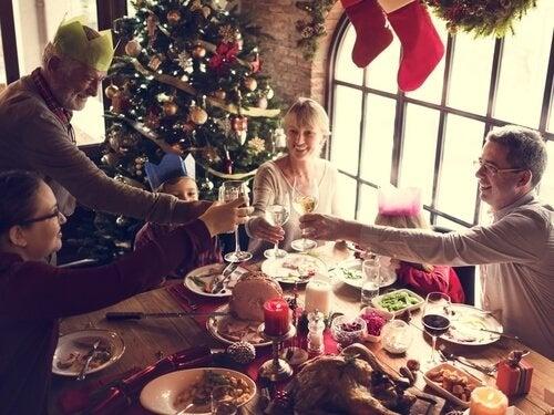 Kerst vieren met de familie