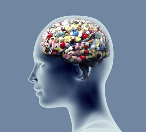 Hoofd vol met pillen