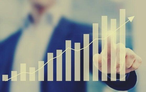 Stijgende grafiek: je productiviteit verhogen