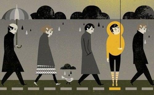 Dit zijn de 5 verschillen tussen verdriet en depressie