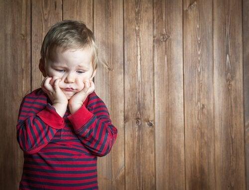 gefrustreerd kind