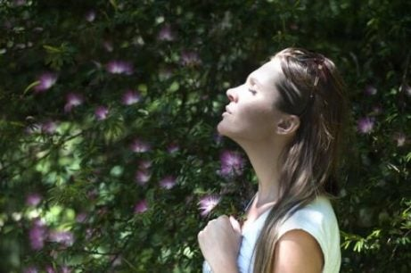 De ademhaling helpt bij de ontwikkeling van geduld
