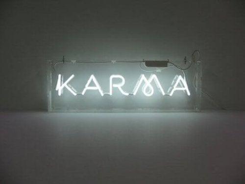 Het effect van karma