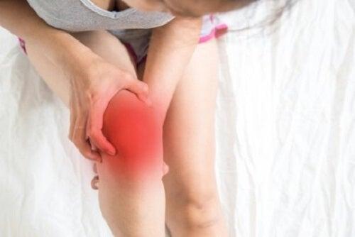Reumatoïde artritis veroorzaakt ernstige pijn