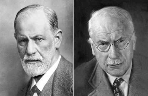 Sigmund Freud en Carl Jung