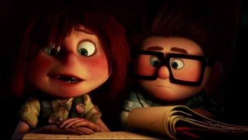 Carl en Ellie