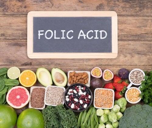 Voedingsmiddelen die foliumzuur bevatten