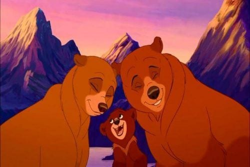 Screenshot uit Brother Bear