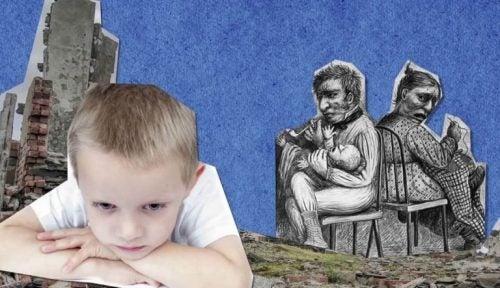 Kind dat over ouders nadenkt
