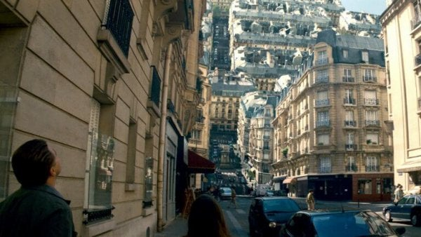 Droomstad uit de film Inception