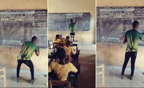 Houding en inspiratie: de Ghanese leraar die IT-les gaf
