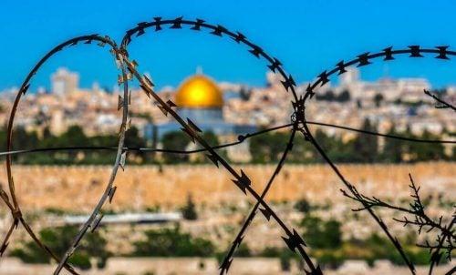 Jeruzalem met prikkeldraad