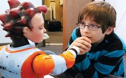 Robots helpen kinderen met autisme