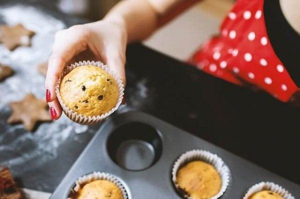Muffins bakken