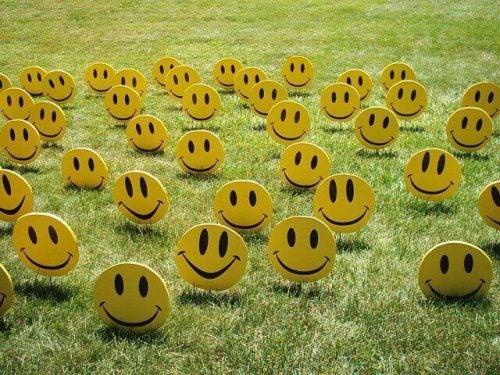 Allemaal verschillende smileys